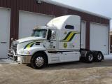 White with Green and Yellow Stripes Packer Truck.JPG